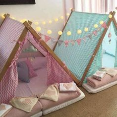 Teepee party - 12 Survivors Shire 2 Person Tent, Green MyKingList com Girl Room, Girls Bedroom, Baby Room, Indoor Tents, Teepee Party, Teepee Tent, A Frame Tent, Sleepover Birthday Parties, Kids Tents