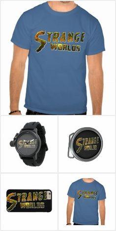 Strange Worlds  collection #Zazzle  #Tshirt #Speakers #Watches #Retro
