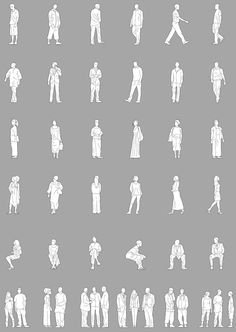 Image result for model people silhouette
