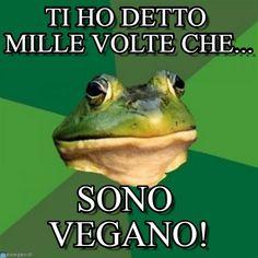 Rana vegana - Foul bachelor frog meme (http://www.memegen.it/meme/8h5np8)