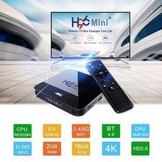 Sponsored - Intelligent HD Set-top Box Mini dual WiFi w/ Bluetooth Android Quad, Set Top Box, Bluetooth, Android Wifi, Mini, Technology World, Tv Videos, Smart Tv, Google Play