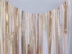 おしゃれ花嫁さんは既に注目!ラブリーな 「リボンカーテン」 で海外風フォトウェディング♡ | ZQN♡