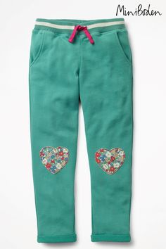 eb96096394df0 Buy Boden Green Appliqué Sweat Pant from the Next UK online shop