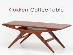 Teak Furniture 北欧デザイン家具クロッケンコーヒーテーブルチーク材IKEA天童 インテリア 雑貨 Modern ¥49800yen 〆05月23日