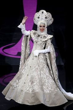 Miss Russia from 2013 Miss Universe National Costume