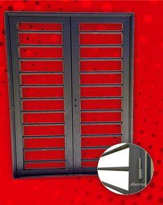 Puerta Reja Hierro Exterior Doble Hoja Premium Chapa18 Pc027 - $ 2.650,00 en MercadoLibre
