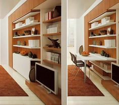 clever ideas for small living room