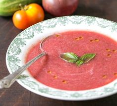Watermelon gazpacho, along with everything else you can make with watermelon