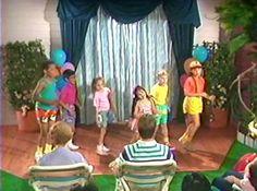 barney backyard show original barney and the backyard gang 1x01
