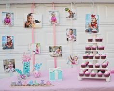 1st Birthday party for baby girl