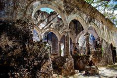 Hacienda Uayamón Arquitectura S 19 | Visita a Campeche Dicie ... Barcelona Cathedral, Building, Travel, Haciendas, December, Architecture, Viajes, Buildings, Destinations