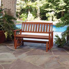 Bali Hai Outdoor Glider Bench