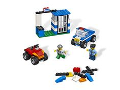 Build action and excitement with cops and robbers!