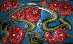 Zsolnay csempe Art Nouveau, Art Deco, Art Tiles, Belle Epoque, Sinks, Pottery Art, Arts And Crafts, Ceramics, Cards