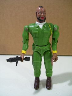 1983 The A-Team Mr. T. as B.A. Baracus Action Figure, Vintage Toy, Cannell on Etsy, $19.95