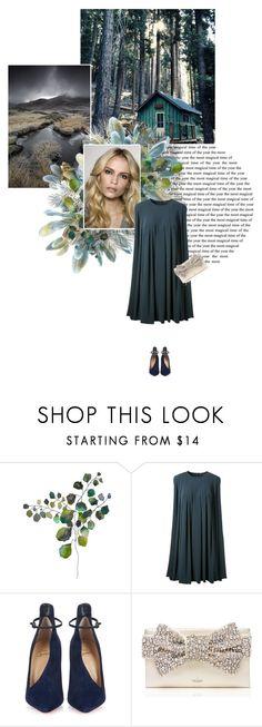 """Nachtblau"" by lagomera ❤ liked on Polyvore featuring moda, CO, Christian Louboutin, Kate Spade, women's clothing, women's fashion, women, female, woman e misses"