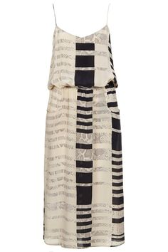 Silk Stripe Pocket Dress By Boutique - New In This Week - New In - Topshop USA