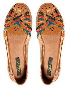Park Lane Weave Flat Shoe