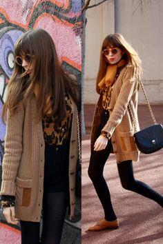 vintage bag - American Apparel shorts - rubber bob sdrunk sunglasses - leopard p
