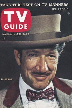 TV Guide, February 28, 1959 - Richard Boone