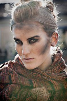 Make up - Dirt face