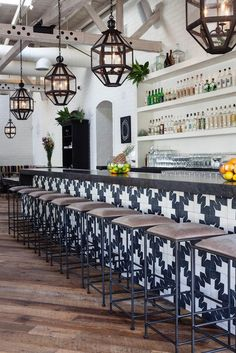 A peek inside the chic interiors of West Hollywood Hotspot Gracias Madre - sohautestyle.com