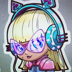 "3,940 Likes, 18 Comments - lordmesa-art (@lord_mesa) on Instagram: ""Another sneak peek into my Lil'ustrations sticker pack based on characters from my upcoming…"""