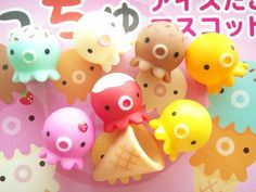 Takochu Octopus Figurine Ice Cream Set + 6 more from Kennedy's Kloset on Storenvy