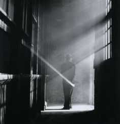 Rodney Smith  Dan Holding Hand Mirror in Fog, No. 1, 2000/2005. From The Unseen Eye: Photographs from the Unconscious.