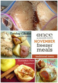 Blog: Once a Month Mom - Monthly Freezer Meals, Recipes & Shopping Lists