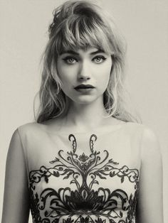 Imogen Poots for Untitled Magazine