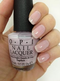 """#nails #opi O•P•I (((O.P.I. - """"Care To Danse?"""" from 'The New York City Ballet Soft Shades Collection')))"""