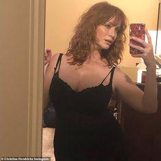 Christina Hendricks rocks a 'Tennessee Williams' look
