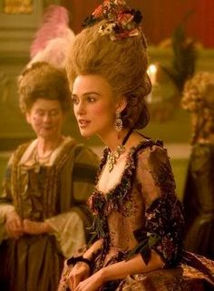 """Keira Knightley portrays the character of Georgiana Cavendish in the movie """"The Duchess"""". Keira Knightley, Keira Christina Knightley, Movie Costumes, Cool Costumes, Ballet Costumes, Historical Costume, Historical Clothing, Georgiana Cavendish, Duchess Georgiana"""