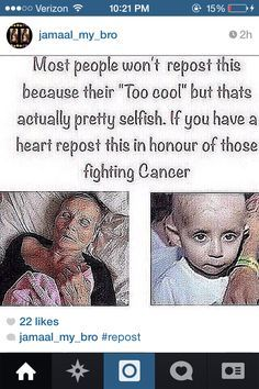 Pin by Valentina Trejo on Repost | Pinterest | Cancer, Fighting Cancer and People