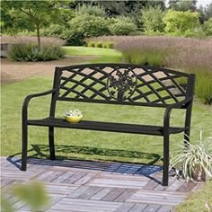 Lowthian Cast Iron Bench- Amazon £80.00