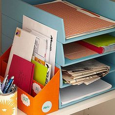 Office Supplies Desk Organization Office Supplies Organization At Work Kate Spade Small Closet Organization, Office Supply Organization, Organization Hacks, Organizing Ideas, Organising Tips, Organizing Life, Electronics Projects, Electronics Storage, Entry Closet