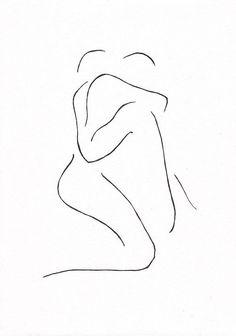 Black and white original ink drawing. Minimalist couple line art. Man and woman. Minimalist Drawing, Minimalist Art, Life Drawing, Painting & Drawing, Bedroom Art, Yin Yang, Erotic Art, Love Art, Oeuvre D'art