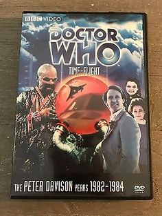 DOCTOR WHO: TIME-FLIGHT (STORY 123) (DVD, 2007)