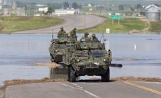 High River Flooding: Canadian Army Descends On War Zone-Like Flooded Town Canadian Army, National Weather, Special Ops, Nature Images, Alberta Canada, Global Warming, Armed Forces, Photography Photos, Climate Change