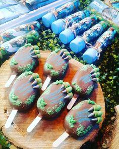 Missdelicias Eventos's Birthday / - Photo Gallery at Catch My Party Birthday Party At Park, Birthday Party Themes, Dinosaur Birthday Cakes, Dinosaur Cake Pops, Bolo Lego, Festa Jurassic Park, Kids Party Themes, Party Ideas, Party Decoration