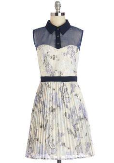 Prance in a Blue Moon Dress | Mod Retro Vintage Dresses | ModCloth.com