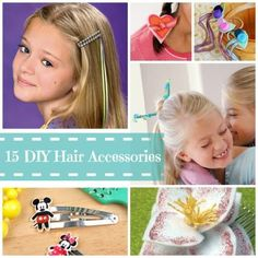 15 Easy DIY Hair Accessories for Girls