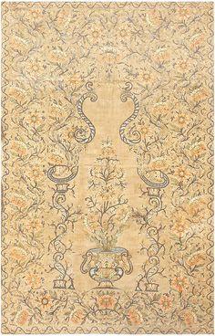 Antique Silk Persian Textile 8386