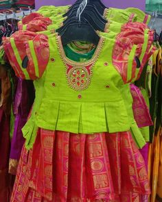 Girls Frock Design, Baby Dress Design, Kids Frocks Design, Kids Blouse Designs, Simple Blouse Designs, Kurta Designs Women, Baby Boy Dress, Baby Girl Dresses, Kids Dress Wear