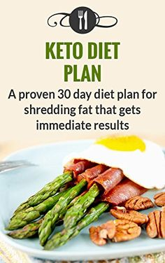 Keto Diet Plan: A Proven 30 Day Diet Plan For Shredding Fat That Gets Immediate Results (Ketogenic Diet Plan For Weight Loss)