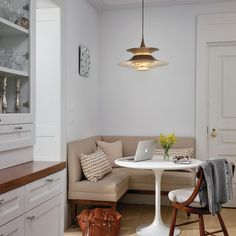 Corner Bench In Kitchen Design Ideas, Pictures, Remodel and Decor