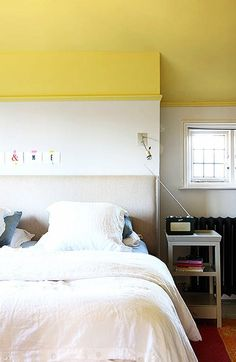 Here are a few unexpected places around you home to add pops of bright, bold color. From the kitchen, to the bathroom, to the bedroom your options are endless. Who knew a simple can of paint + a weekend for a quick DIY could give you such a transformation.