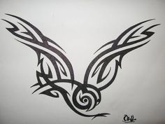 tribal owl tattoo images | Tribal Owl By Knotty Inks On Deviantart - Free Download Tattoo #42653 ...