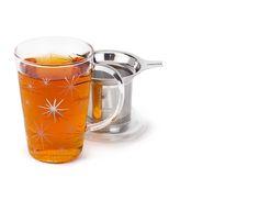 Silver Starburst Perfect Mug